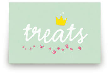 Princess Crown Personalizable Table Signs 1
