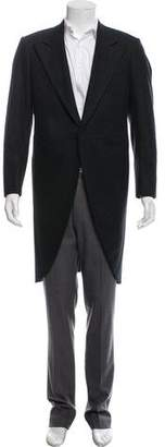 Giorgio Armani One-Button Wool Overcoat w/ Tags