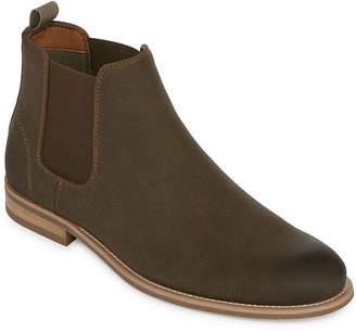 Jf J.Ferrar Mens Fenton Dress Boots Slip-on