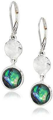 Chaps Women's Silver-Tone Double Drop Earrings