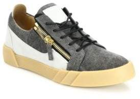 Giuseppe Zanotti Multitoned Low-Top Sneakers