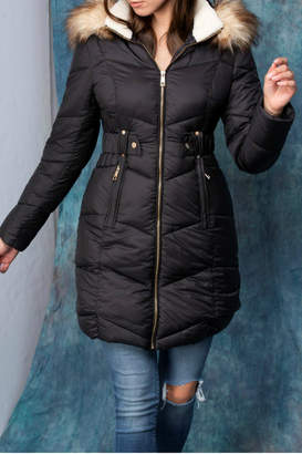 Coalition Snap Your Fingers Hooded Coat