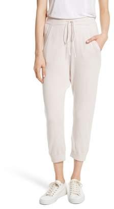 Nili Lotan Janina Cashmere Crop Lounge Pants