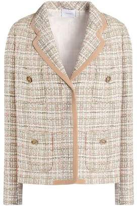 Agnona Wool-Blend Tweed Blazer
