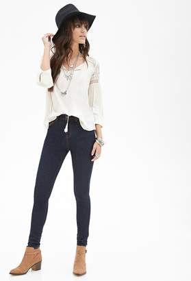 Forever 21 High-Rise - Skinny Jeans