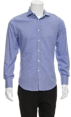 Brunello Cucinelli Plaid Button-Up Shirt w/ Tags