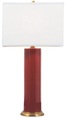 Port 68 Melrose Table Lamp - Ruby