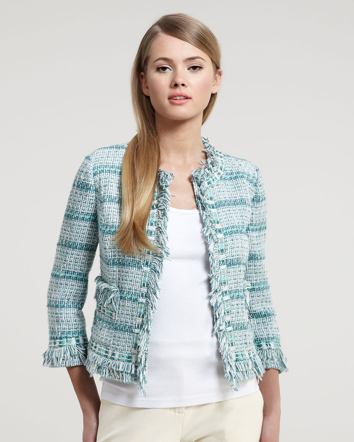 Tory Burch Marion Tweed Jacket