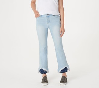 Peace Love World Peace Love World__Indigo Jeans with Contrast Hem Detail
