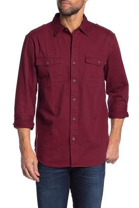 Weatherproof Solid Washed Twill Shirt