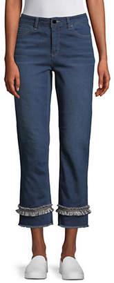 Jones New York Lexington Straight Cropped Jeans