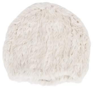 J. Mendel Mink Fur Knit Beanie
