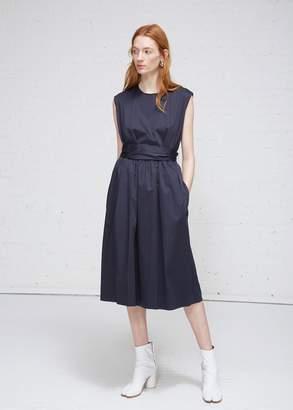 MS MIN Sleeveless Belted Dress