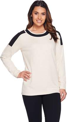 Linea By Louis Dell'olio Leisure by Louis Dell'Olio Color-Block Long Sleeve Top