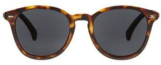 Le Specs Bandwagon Sunglasses In Matte Tort