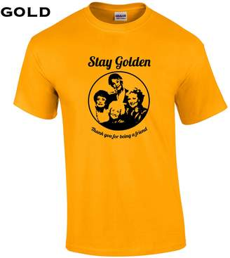Swaffy Tees 4 Stay Golden Funny Men's T Shirt