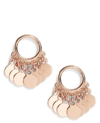 Argentovivo Vermeil Frontal Drop Earrings