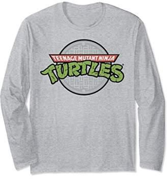 Nickelodeon TMNT sewer logo Long Sleeve T-shirt