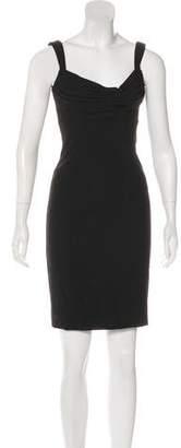 L'Wren Scott Wool Sheath Dress