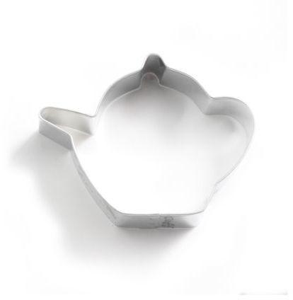 """Sur La Table Ann Clark Teapot Cookie Cutter, 3.5"""""""