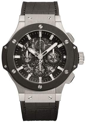 Hublot Big Bang Aero Bang 44mm Steel Ceramic Chronograph Watch