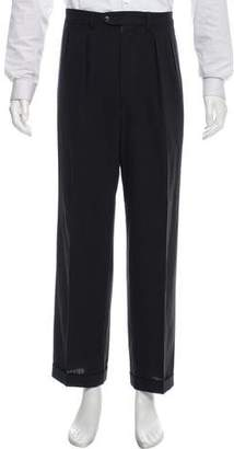 Calvin Klein Collection Pleated Wool Pants