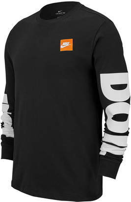 Nike Men Big & Tall Sportswear Just Do It Long-Sleeve T-Shirt