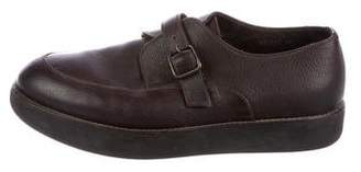 Giorgio Armani Leather Derby Shoes