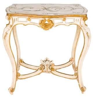 Italian Painted Wood Table