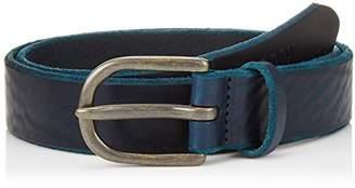 Armani Exchange Men's Embossed Leather Belt