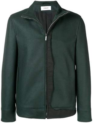 Chalayan high neck bomber jacket
