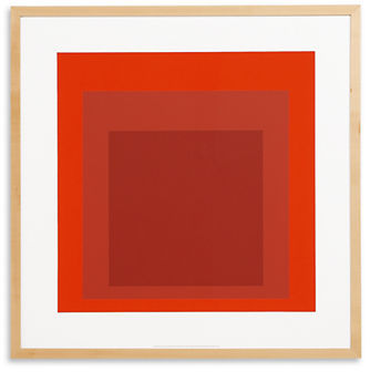 Albers, Study for Homage to the Square, 1970