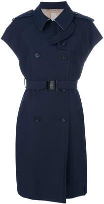 No.21 sleeveless trench coat