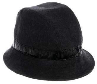 Blumarine Embellished Wool Hat