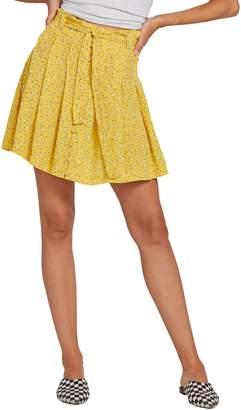 3a949a907 Volcom Hey Bud Paperbag Waist Skirt