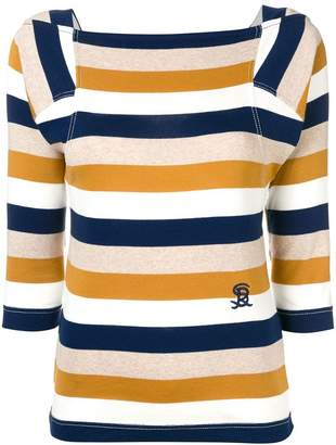 Sonia Rykiel jersey striped T-shirt