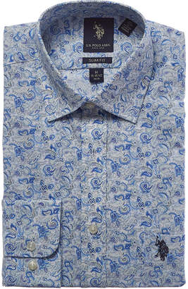 US Polo Association U.S. Polo Assn. Slim Fit Dress Shirt