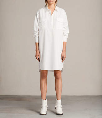 AllSaints Lamont Shirt Dress