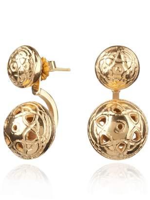 Maro - Gold Byzantine Twin Ear Jackets