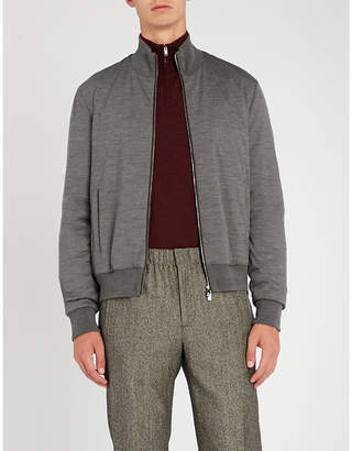 Corneliani Wool bomber jacket