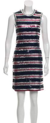 Lanvin Sequin-Embellished Mini Dress w/ Tags