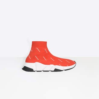 Balenciaga Stretch printed trainers with contrasting textured sole