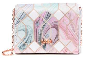 Ted Baker Sea Of Clouds Bow Evening Bag
