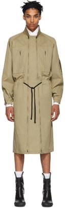 BEIGE Random Identities Versatile Dress Coat