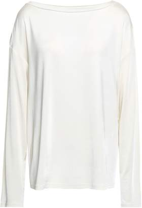 Theory Stretch-jersey Top