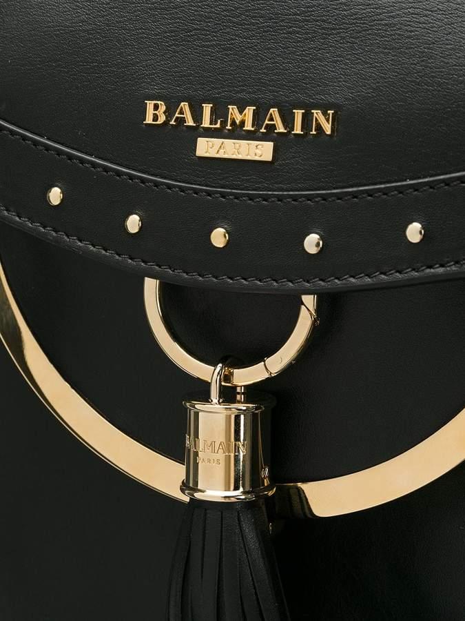 Balmain Domaine studded shoulder bag