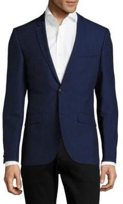 HUGO BOSS Adris Modern Fit Striped Blazer