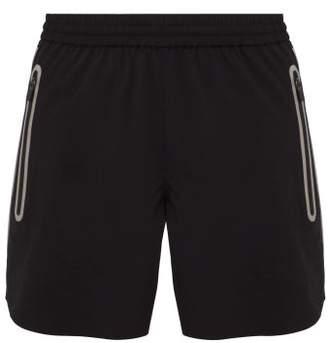 BLACKBARRETT by NEIL BARRETT Zip Pocket Track Shorts - Mens - Black