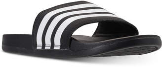 adidas Women adilette Cloudfoam Plus Slide Sandals from Finish Line