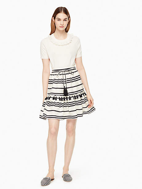 Bea stripe didi skirt